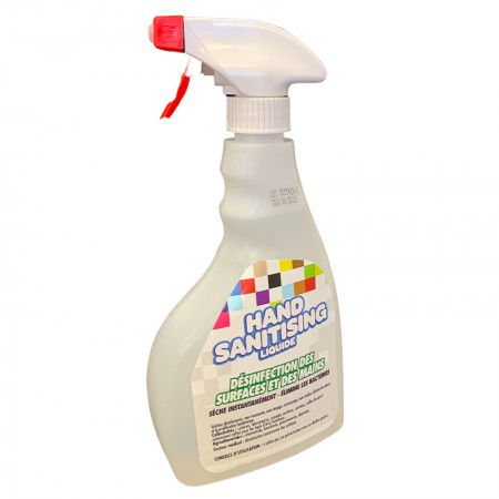 Spray désinfectant virucide...