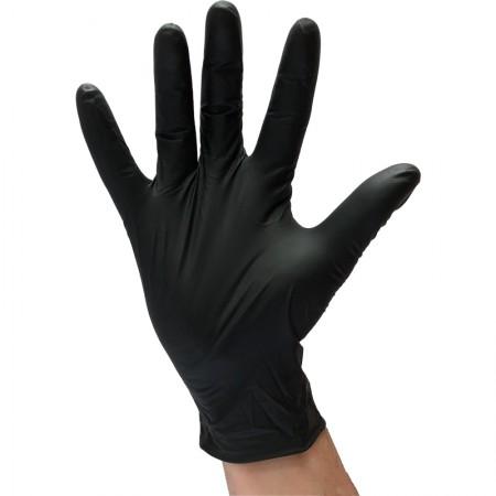 Gant nitrile noir résistant...