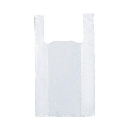 Sac blanc plastique 35*50 25µ