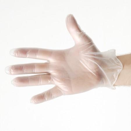 Gant vinyl légèrement poudrés