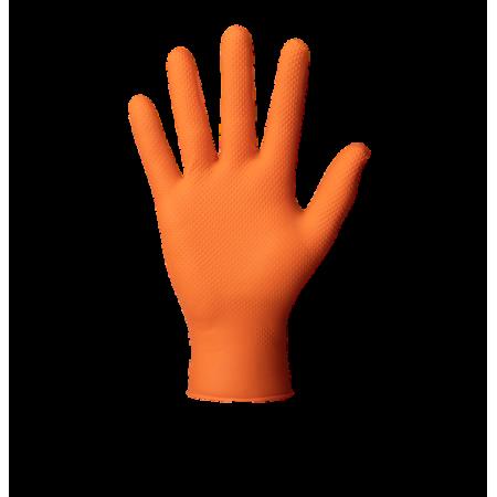 Gant nitrile orange extra...