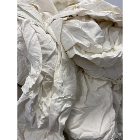 Chiffon drap blanc coton