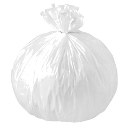 Sacs poubelle 50 litres blanc