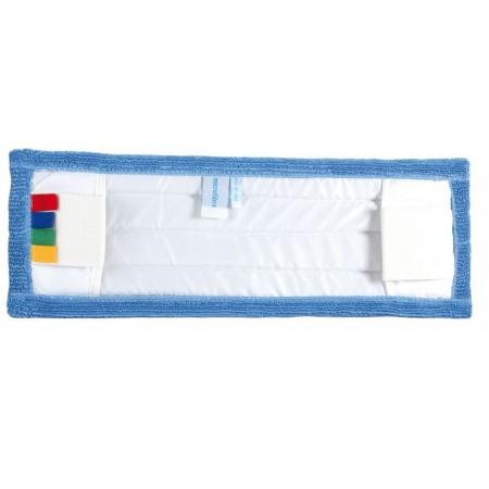 Frange microfibres bleue 40...