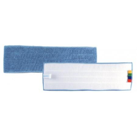 Frange bleue velcro 130x440 mm