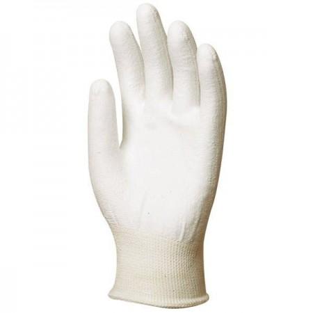 Gant tricoté blanc anticoupure