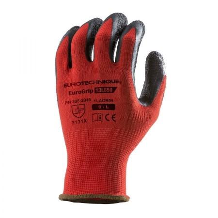 Gant de protection rouge...