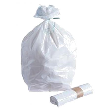 Sac poubelle 30 L blanc...