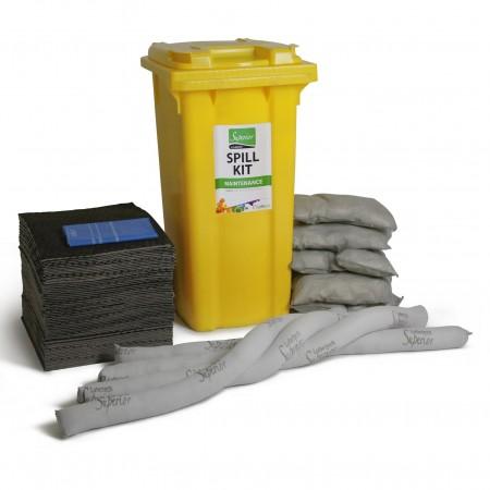 Kit anti-pollution jaune...
